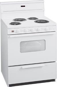 White on White Oven Range EDK 2400W
