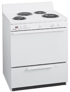White on White Oven Range EDK 1000W