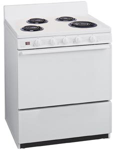 White on White Oven Range EFK 102
