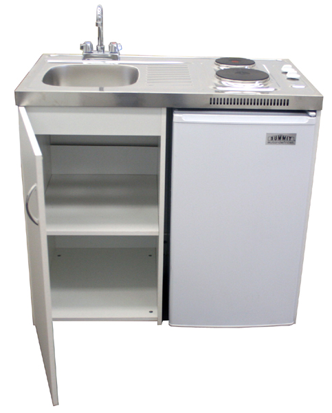 Small Kitchen Sink Unit : Compact Kitchens ADA Handicap Kitchens Compact Kitchen Cabinets