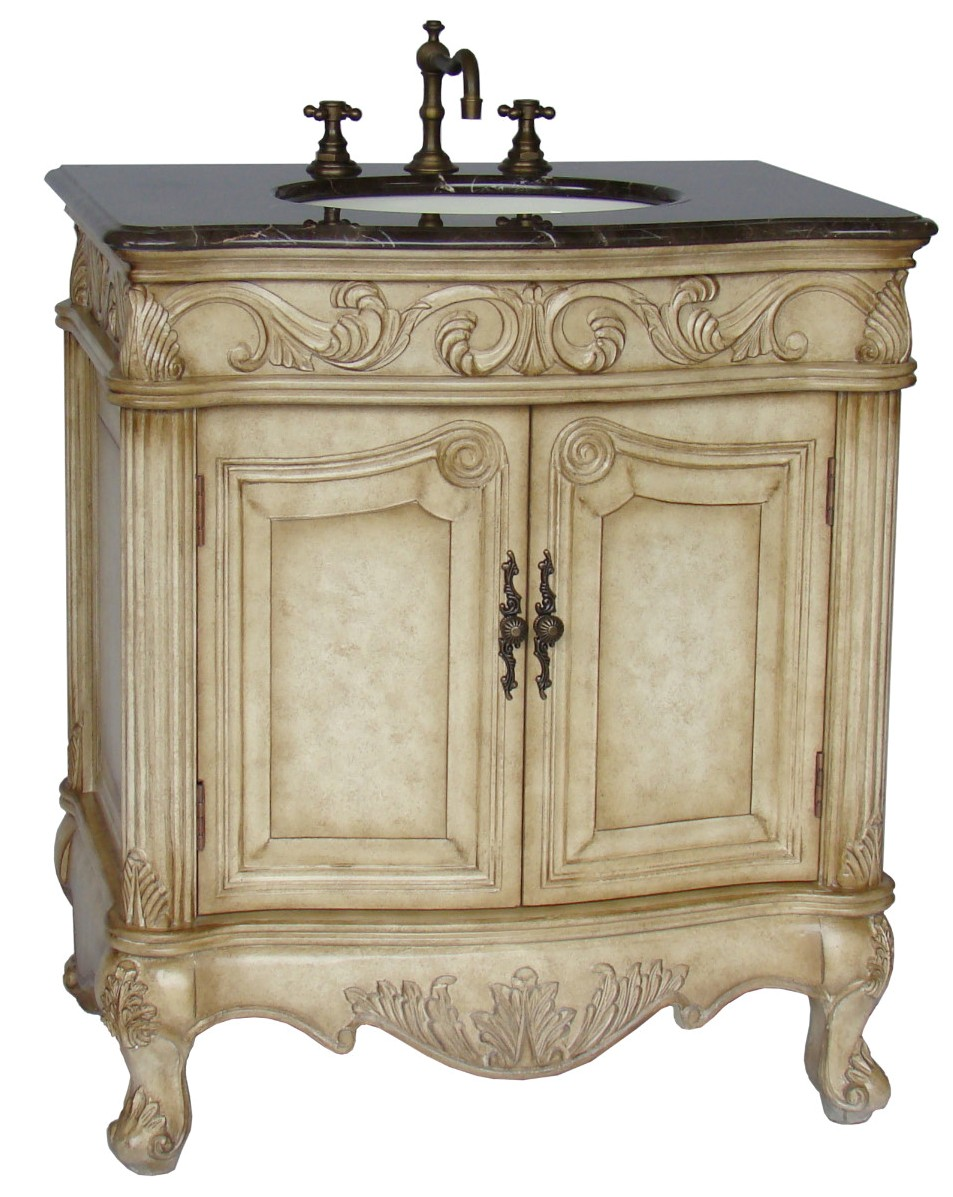 32inch mia vanity country french style vanity french - Country french bathroom vanities ...