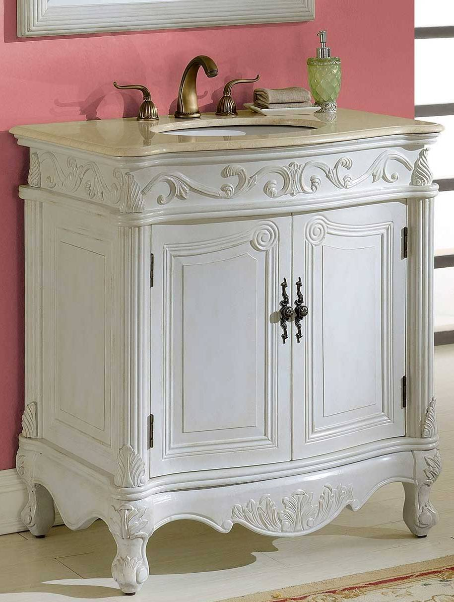 32inch Mia Vanity Country French Style Vanity French