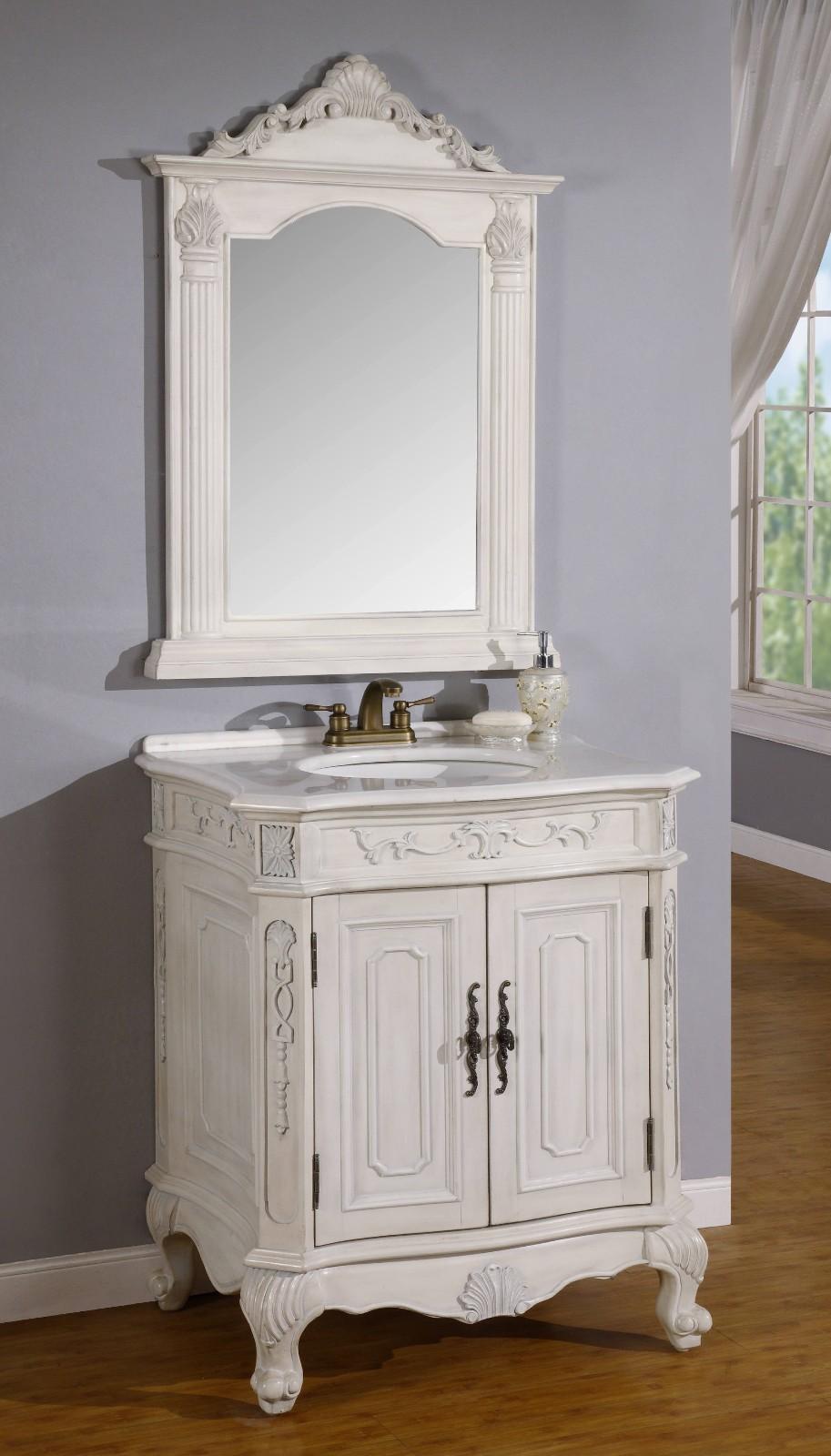 12 Inch to 29 Inch Wide Vanities | Ornate Sink Vanity ...
