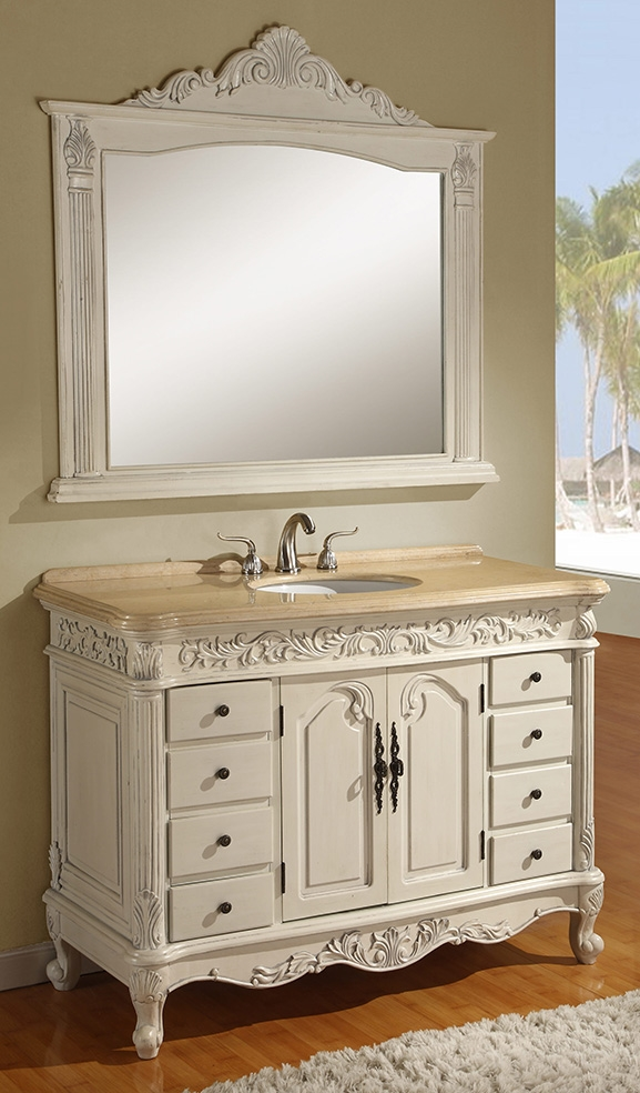 48 Bathroom Vanity With Top: 30 Inch To 48 Inch Vanities