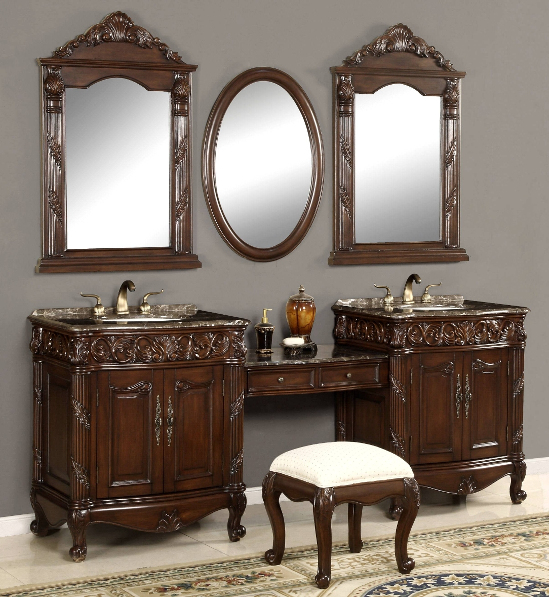 80 Inch And Over Vanities Bathroom Sink Vanities Double Sink Vanity