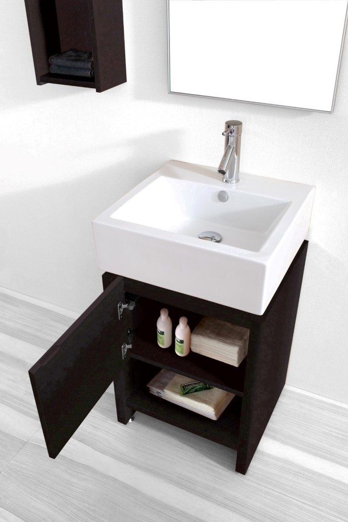 20 Inch Gulia Vanity Space Saving Cabinet 20 Inch Wide