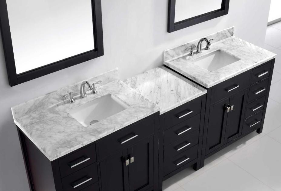 80 Inch And Over Vanities Bathroom Sink Vanities