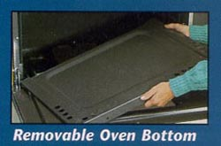 Removable Oven Bottom