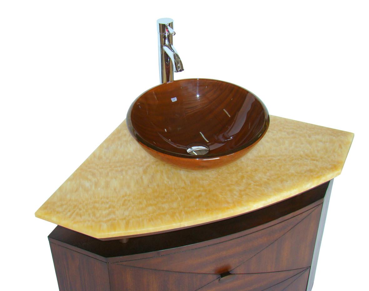 Bathroom Corner Sink Cabinet : Corner Sink Vanity Corner Bathroom Vanity Corner Sink Cabinet